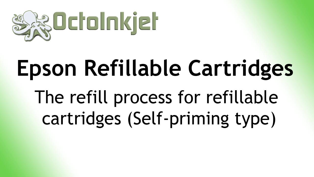 KB / FAQ :: Priming Epson Refillable Cartridges