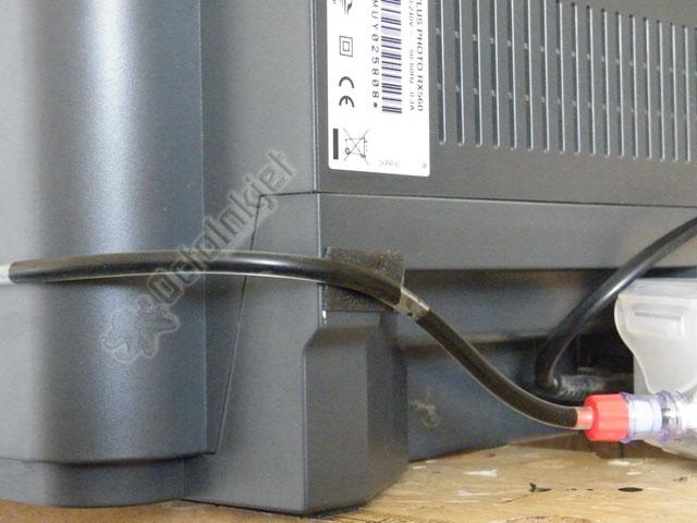 RX560 - Waste ink tank installed
