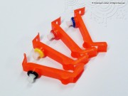CLI-42 / CLI-8 set of 4 flush/fill clips (Red, Blue, Yellow & Black)