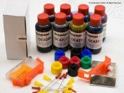 Starter Refill Bundle for Pro-100 / Pro-100S Includes Version 2 Ink Set (8x 50ml) (Check specification for full kit contents)