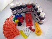 CLI-42 Starter Refill Bundle including 8x50ml inks, chip resetter and SquEasyFill system. All for the Canon Pro-100