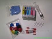 T791-T794 - Refillable Cartridge Bundle for Epson Stylus Photo 1400