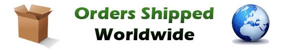 Orders Shipped Worldwide